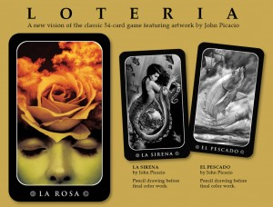 John Picacio's Loteria cards from Lone Boy
